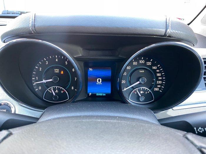 2014 Holden Calais V VF MY14 Heron White