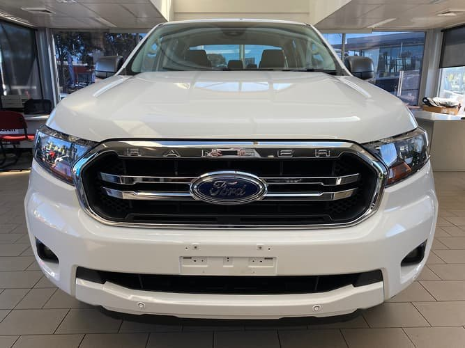 2020 Ford Ranger XLS PX MkIII MY20.25 4X4 Dual Range Arctic White