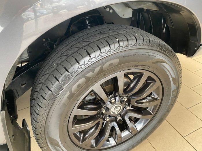 2016 Holden Colorado Z71 RG MY17 4X4 Dual Range Satin Steel Grey
