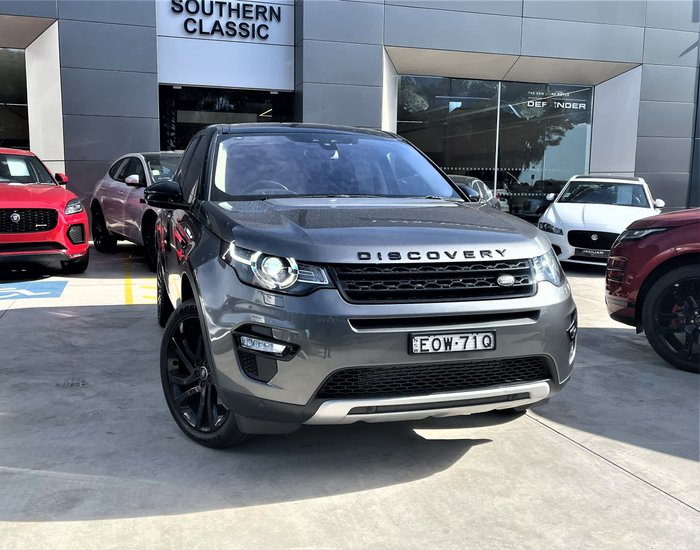 2015 Land Rover Discovery Sport TD4 HSE L550 MY15 4X4 Constant Corris Grey
