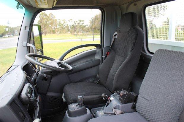 2011 Isuzu FRR500 Service Crane Truck White