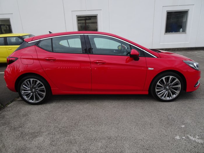 2017 Holden Astra RS-V BK MY18 Absolute Red
