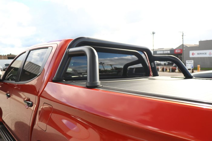 2020 Mitsubishi Triton GSR MR MY20 4X4 Dual Range Sunflare Orange