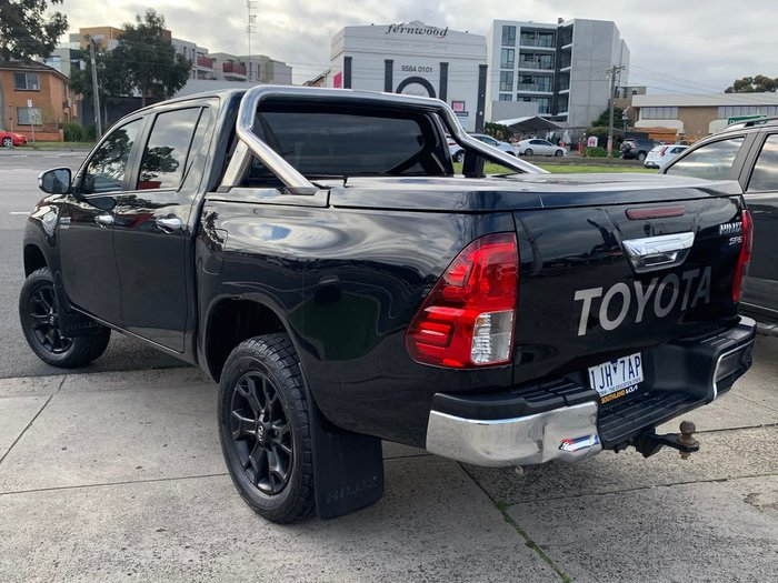 2016 Toyota Hilux SR GUN126R 4X4 Dual Range Black