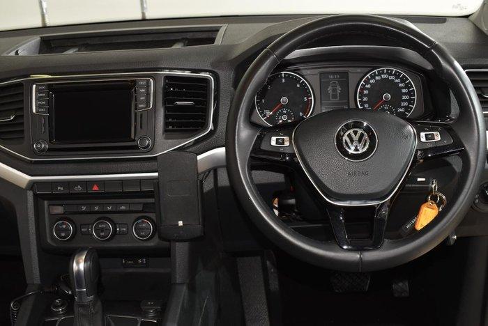 2018 Volkswagen Amarok TDI550 Highline 2H MY18 4X4 Constant Candy White