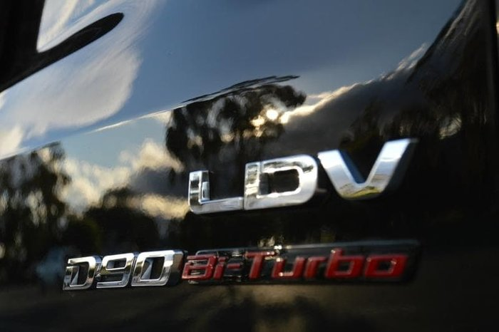 2020 LDV D90 Executive SV9A 4X4 Dual Range Metal Black