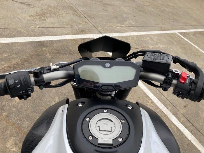 2014 Yamaha MT-07 White