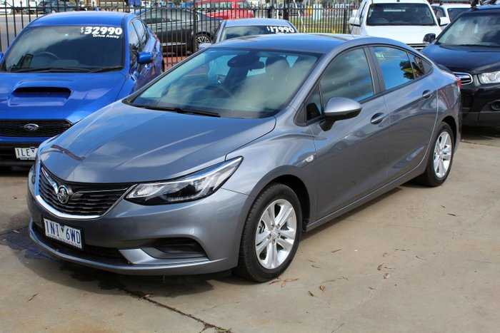2018 Holden Astra LS+ BL MY18 Satin Steel Grey