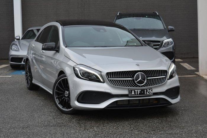 2017 Mercedes-Benz A-Class A200 W176 Polar Silver