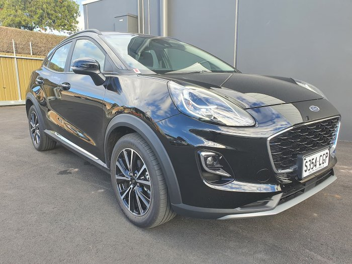 2020 Ford Puma JK MY20.75 Agate Black
