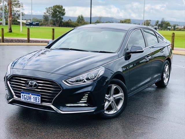 2019 Hyundai Sonata Active LF4 MY19 Blue