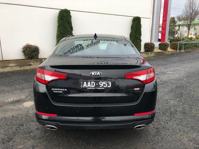 2013 Kia Optima Platinum TF MY13 Aurora Black