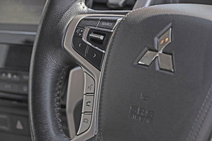 2019 Mitsubishi Triton GLS MR MY20 4X4 Dual Range White