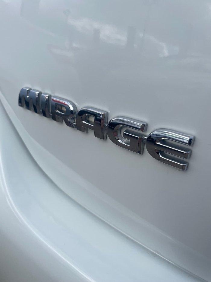 2013 Mitsubishi Mirage ES LA MY14 White