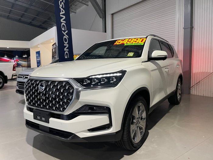 2021 SsangYong Rexton Ultimate Y450 MY21 4X4 Dual Range Grand White