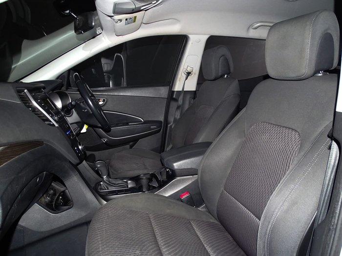 2013 Hyundai Santa Fe Active DM MY13 4X4 On Demand Silver
