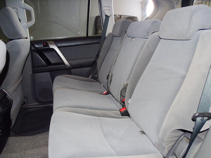 2010 Toyota Landcruiser Prado GX KDJ150R 4X4 Constant Glacier White