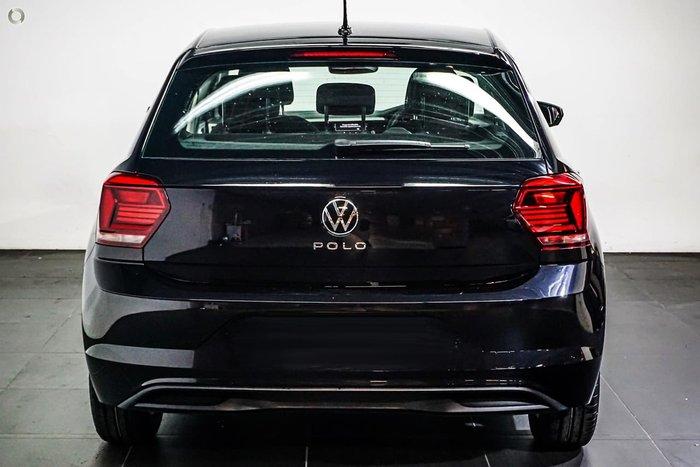 2021 Volkswagen Polo 85TSI Comfortline AW MY21 Black