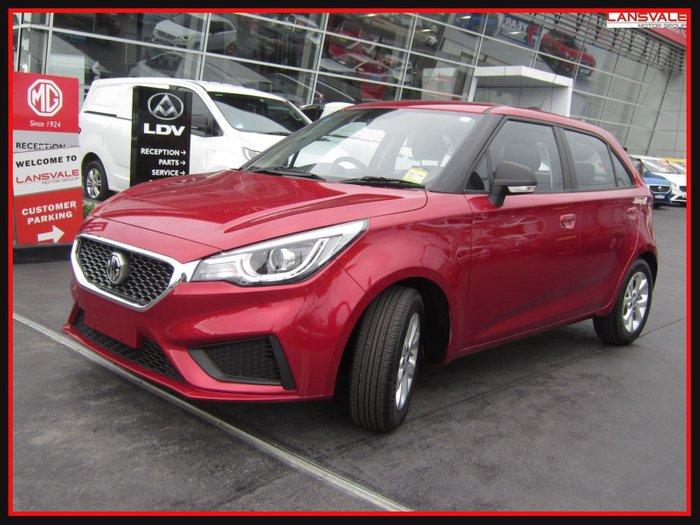 2021 MG MG3 Core SZP1 MY21 TARTAN RED