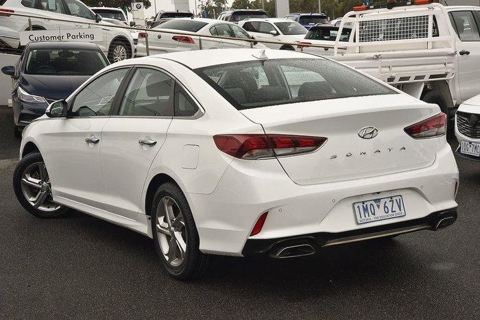 2018 Hyundai Sonata Active LF4 MY18 White