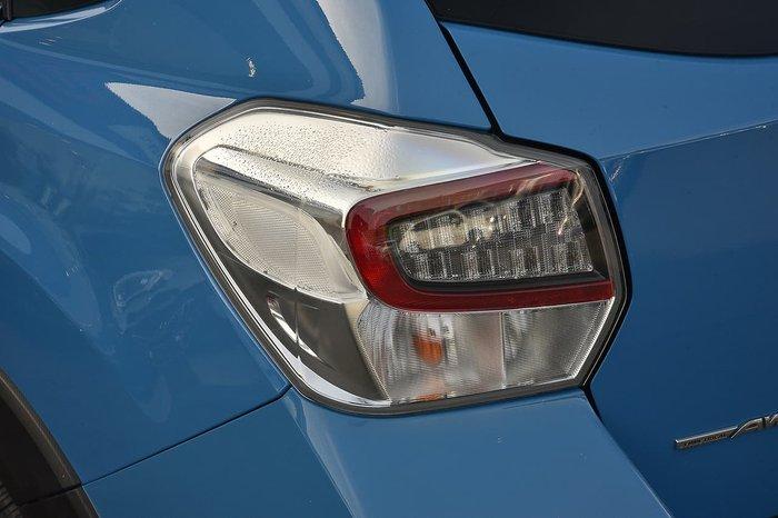 2016 Subaru XV 2.0i-S G4X MY16 AWD Blue