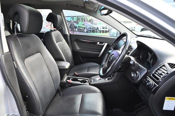 2015 Holden Captiva 7 LTZ CG MY15 AWD Silver