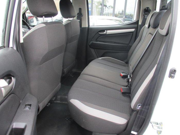 2017 Holden Colorado LS RG MY18 4X4 Dual Range Summit White