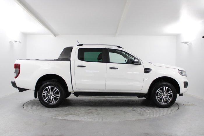 2021 Ford Ranger Wildtrak PX MkIII MY21.25 4X4 Dual Range White
