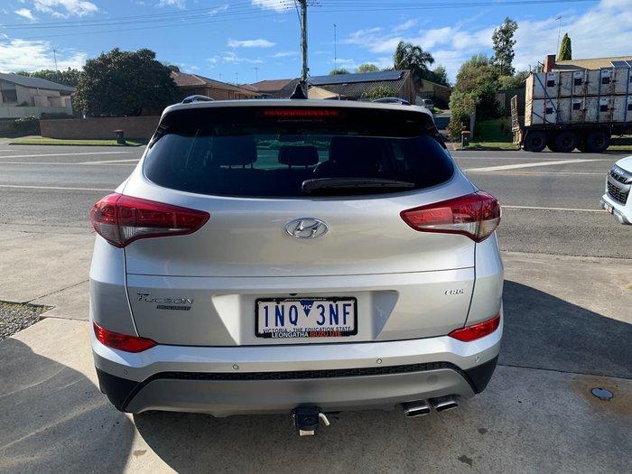 2017 Hyundai Tucson Highlander TLE2 MY18 AWD Silver