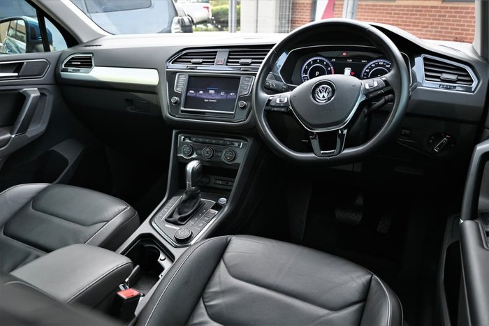 2016 Volkswagen Tiguan 132TSI Comfortline 5N MY17 Four Wheel Drive Caribbean Blue
