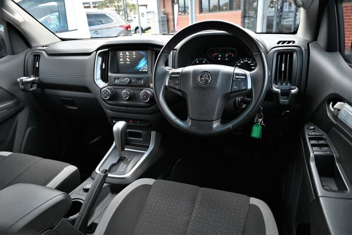 2018 Holden Colorado LS RG MY18 4X4 Dual Range Satin Steel Grey