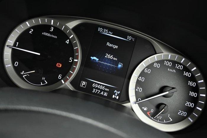 2017 Nissan Navara ST-X D23 Series 2 4X4 Dual Range Slate Grey
