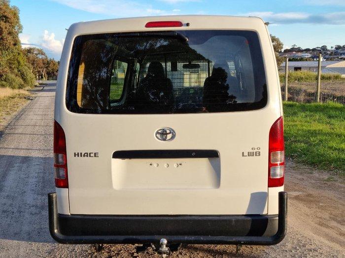 2017 Toyota Hiace KDH201R White