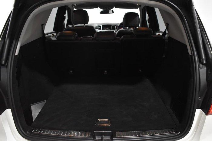 2012 Mercedes-Benz M-Class ML250 BlueTEC W166 4X4 Constant White