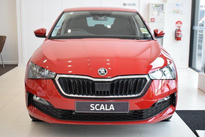 2021 SKODA Scala 110TSI NW MY21 Velvet Red
