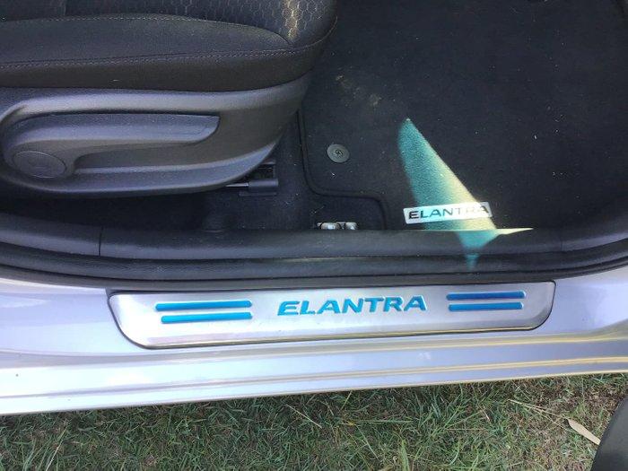 2018 Hyundai Elantra Active AD.2 MY19 Platinum Silver