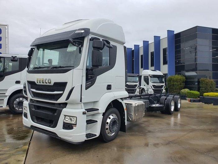 2021 IVECO STRALIS X-WAY White