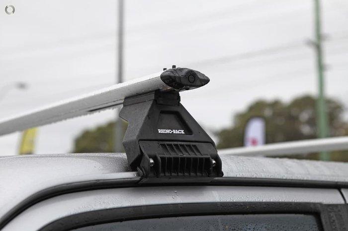 2011 Nissan Patrol ST GU 7 MY10 4X4 Dual Range Silver