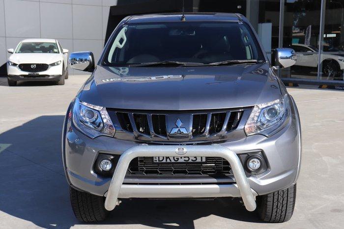 2018 Mitsubishi Triton Exceed MQ MY18 4X4 Dual Range Grey
