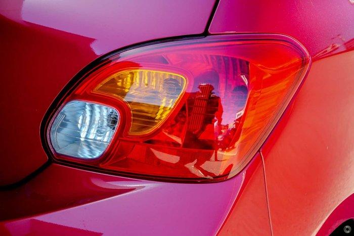 2021 Mitsubishi Mirage ES LB MY22 Red Planet