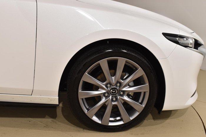 2019 Mazda 3 G20 Evolve BP Series Snowflake White Pearl