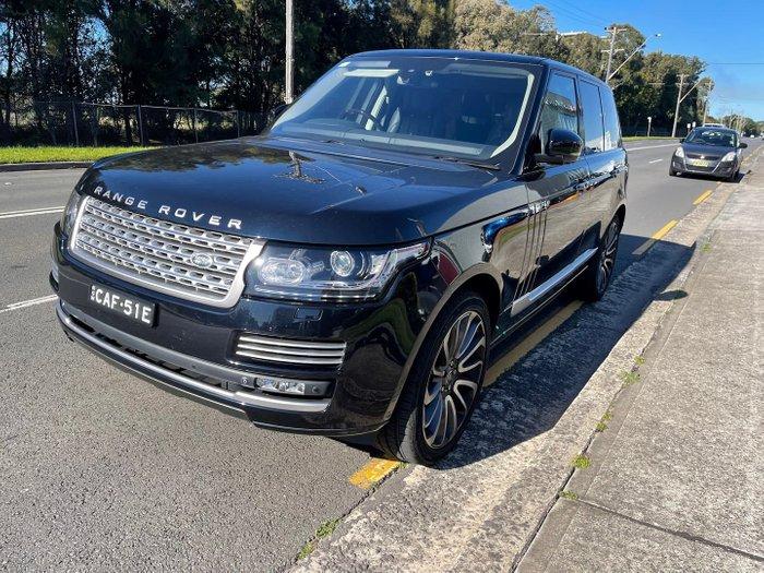 2015 Land Rover Range Rover SDV8 Autobiography L405 MY16 4X4 Dual Range Black