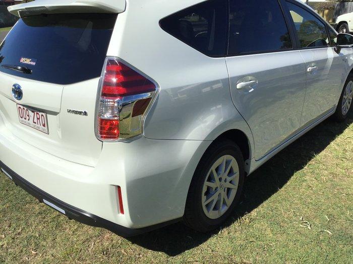 2020 Toyota Prius V i-Tech ZVW40R Crystal Pearl
