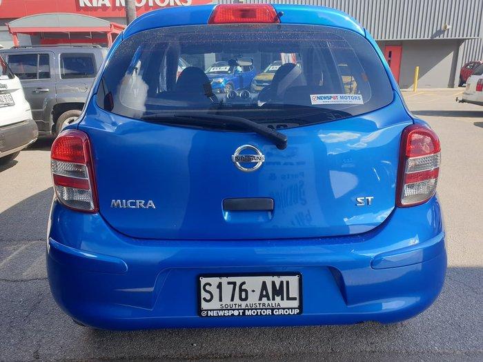 2011 Nissan Micra ST K13 Blue
