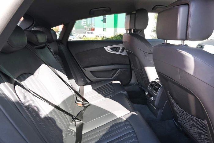 2017 Audi A7 Black Edition 4G MY18 Four Wheel Drive Black