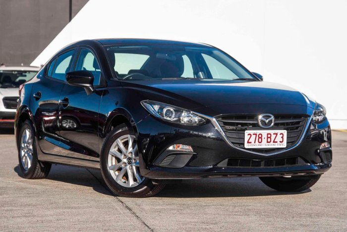 2015 Mazda 3 Neo BM Series Jet Black