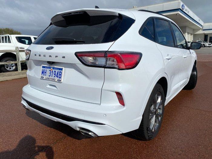 2020 Ford Escape ST-Line ZH MY20.75 Frozen White