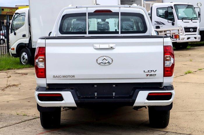 2021 LDV T60 PRO SK8C 4X4 Dual Range White