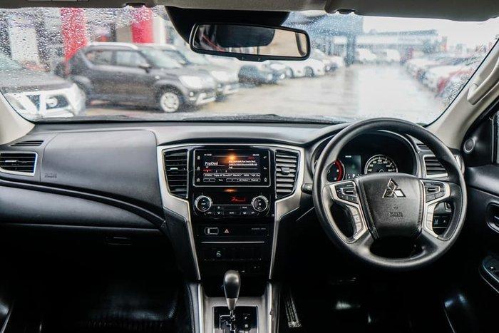 2018 Mitsubishi Triton GLX+ MR MY19 4X4 Dual Range Graphite Grey