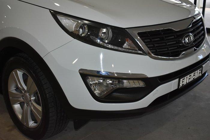 2013 Kia Sportage SLi SL Series II MY13 4X4 On Demand White